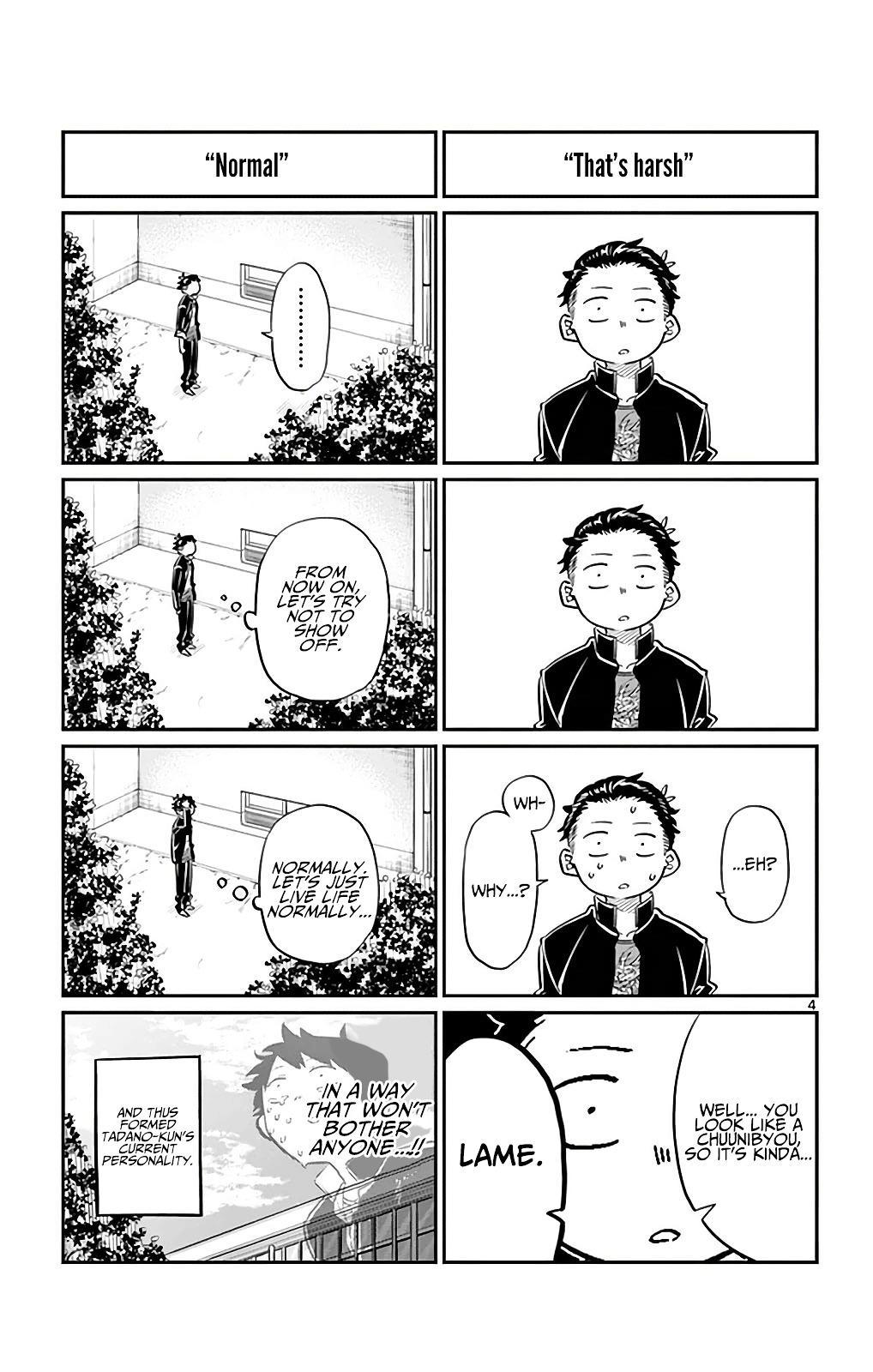 Komi-San Wa Komyushou Desu Vol.2 Chapter 32: Tadano-Kun's Junior High Days page 4 - Mangakakalot