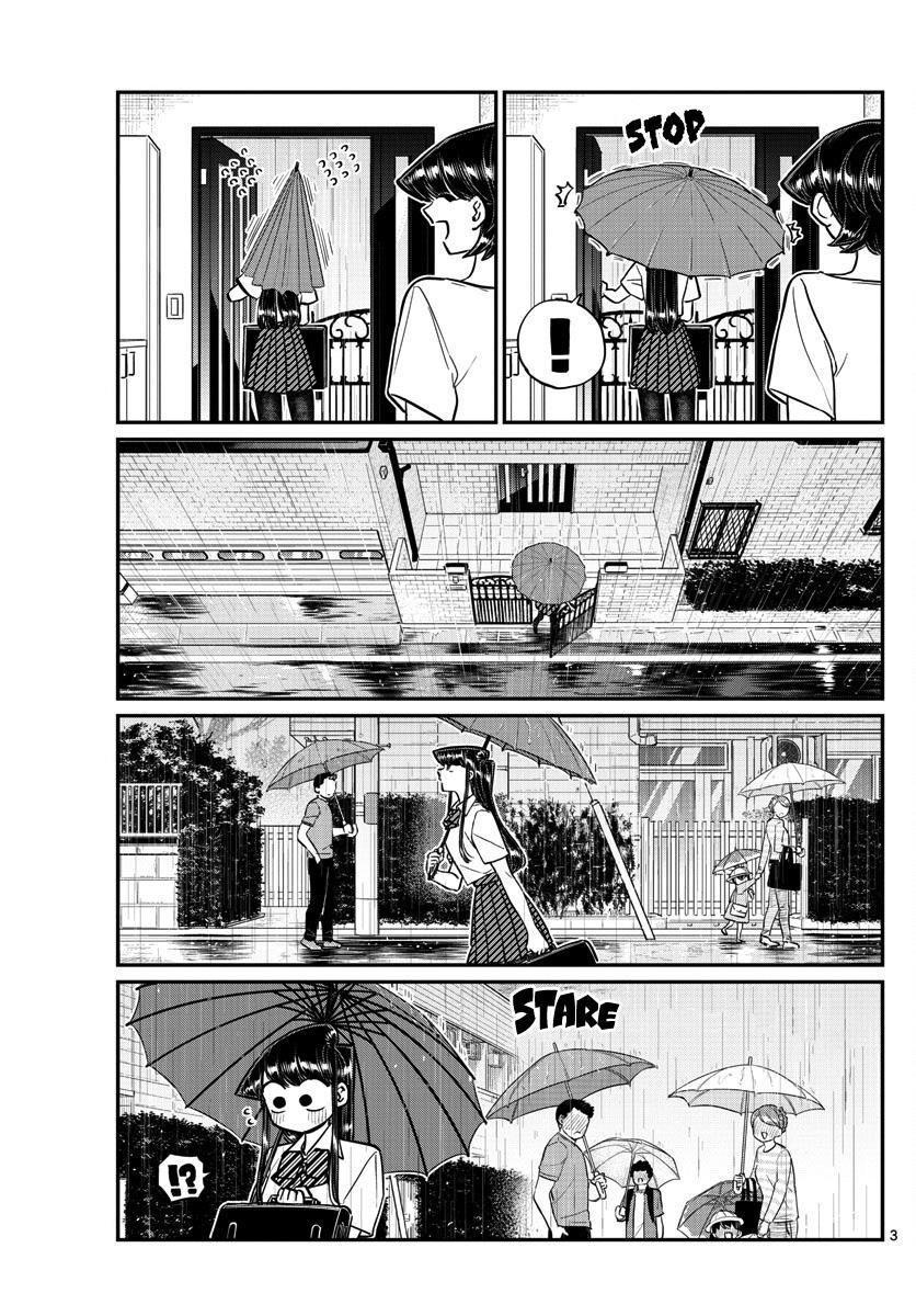 Komi-San Wa Komyushou Desu Vol.11 Chapter 154: Rainy Season page 3 - Mangakakalot