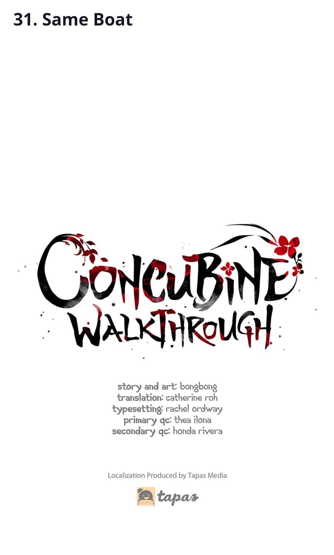 Concubine Walkthrough Chapter 31 page 1 - Mangakakalots.com