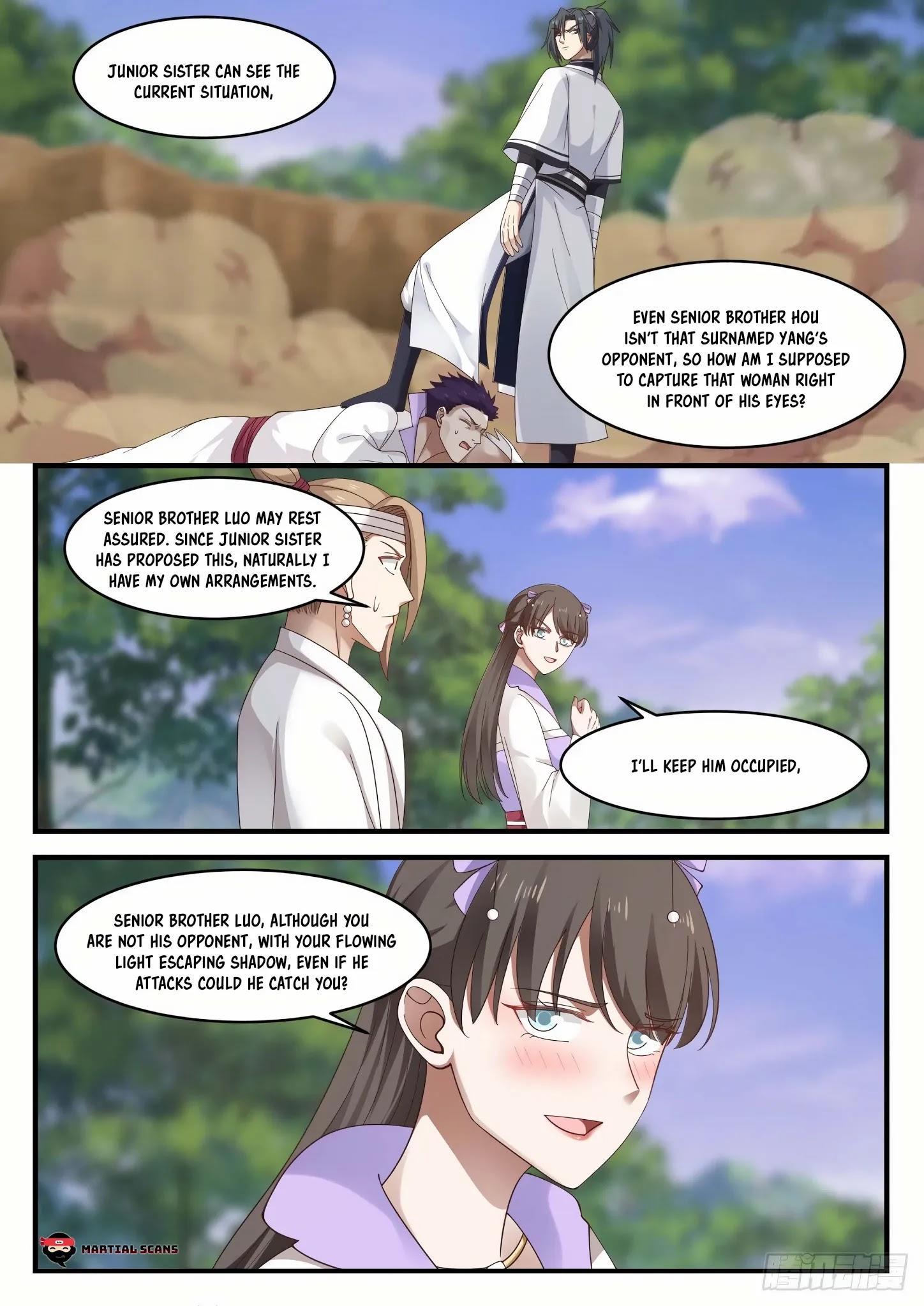 Martial Peak Chapter 1184: Bond Of Fate page 6 - Mangakakalots.com