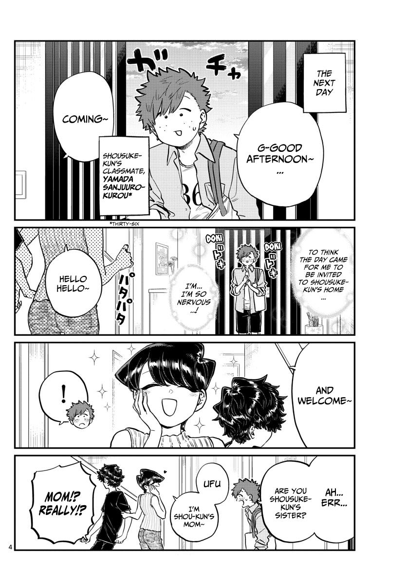 Komi-San Wa Komyushou Desu Chapter 207: Banquet page 4 - Mangakakalot