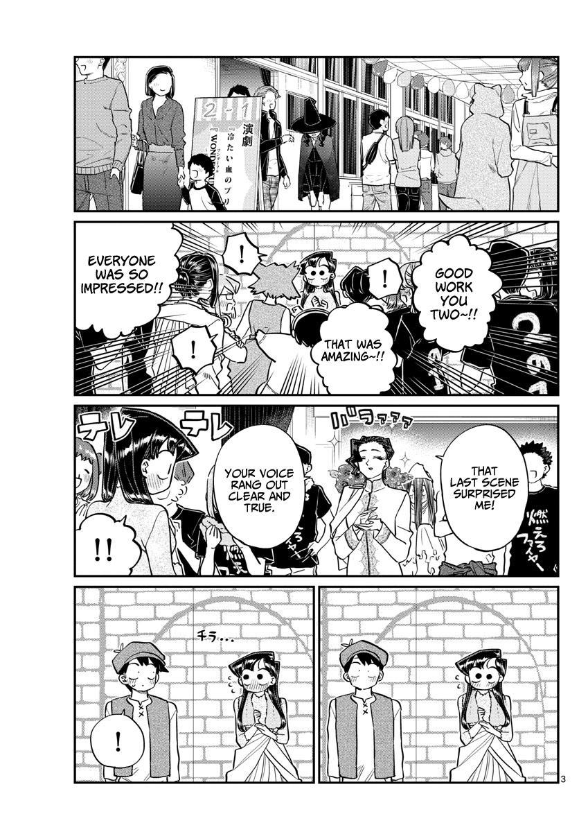 Komi-San Wa Komyushou Desu Chapter 224: Wig page 3 - Mangakakalot