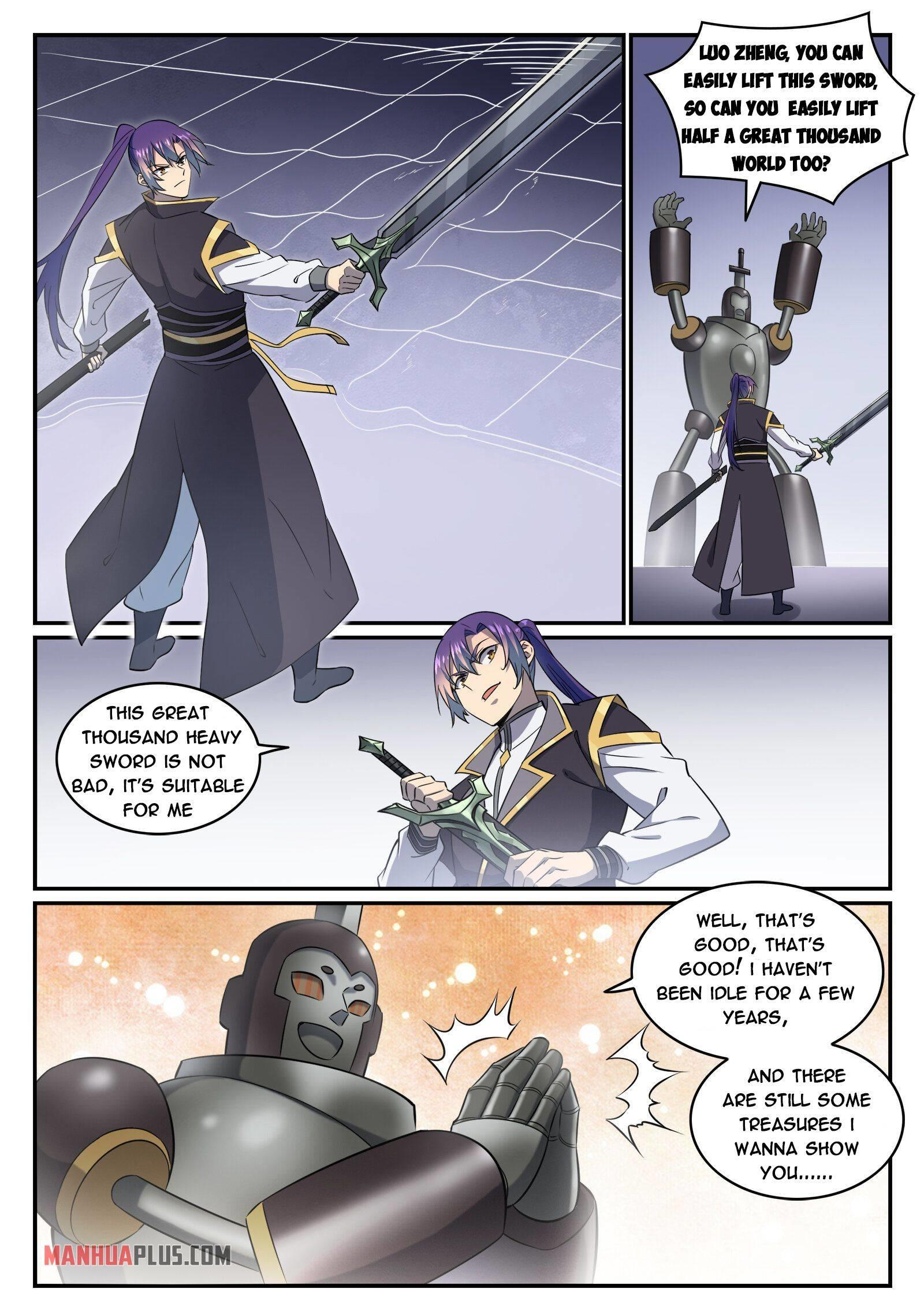 Apotheosis Chapter 780 page 12 - Mangakakalots.com