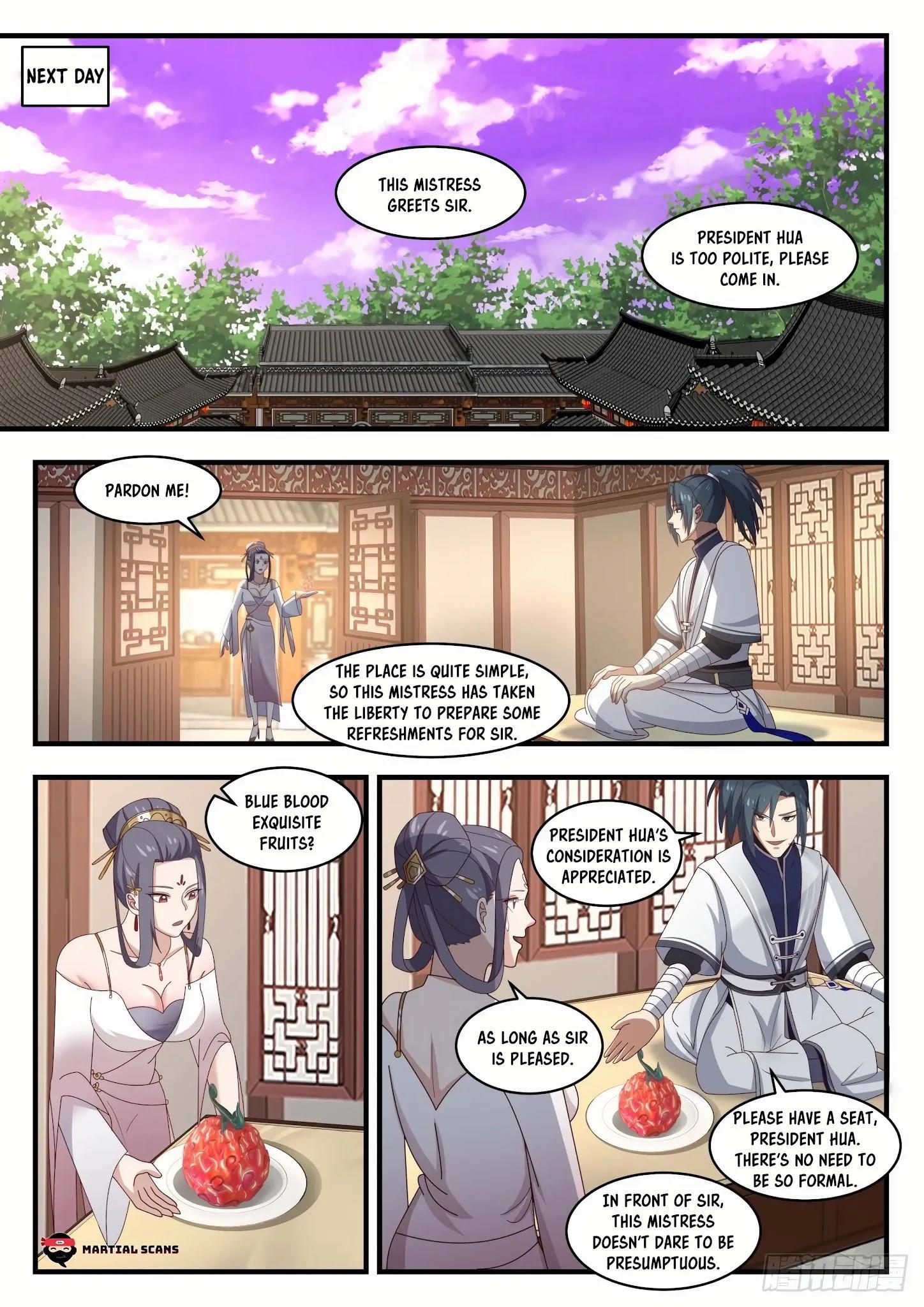 Martial Peak Chapter 1505: Purple Star Order page 10 - Mangakakalots.com