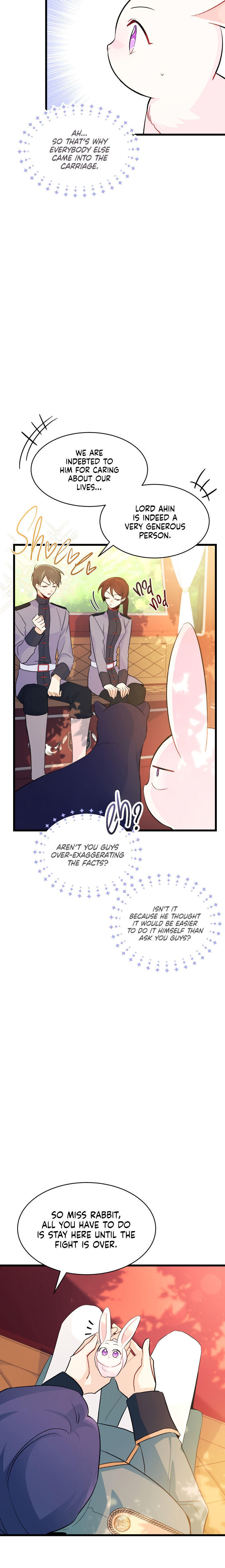 A Symbiotic Relationship Between A Rabbit And A Black Panther Chapter 27 page 19 - Mangakakalots.com