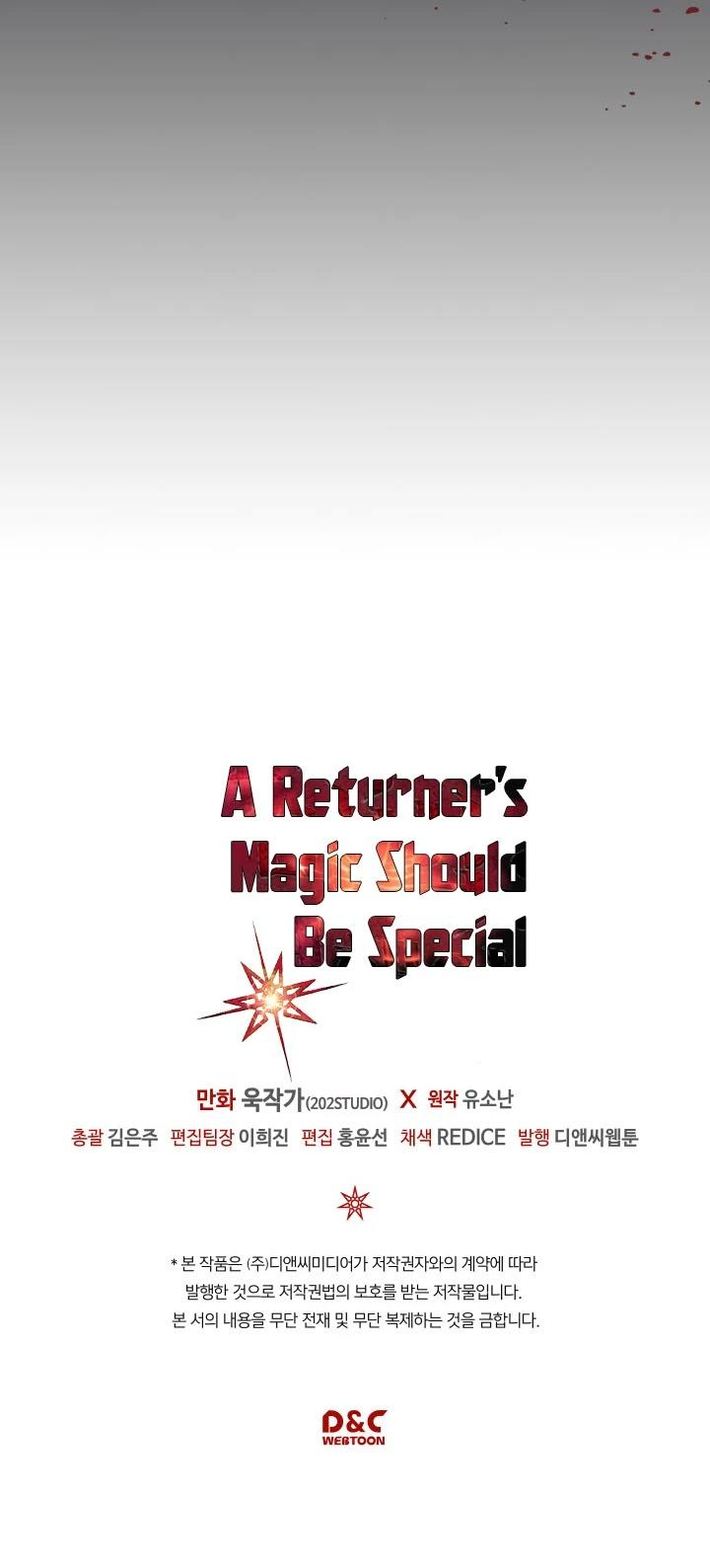 A Returner's Magic Should Be Special Chapter 107 page 37 - Mangakakalots.com