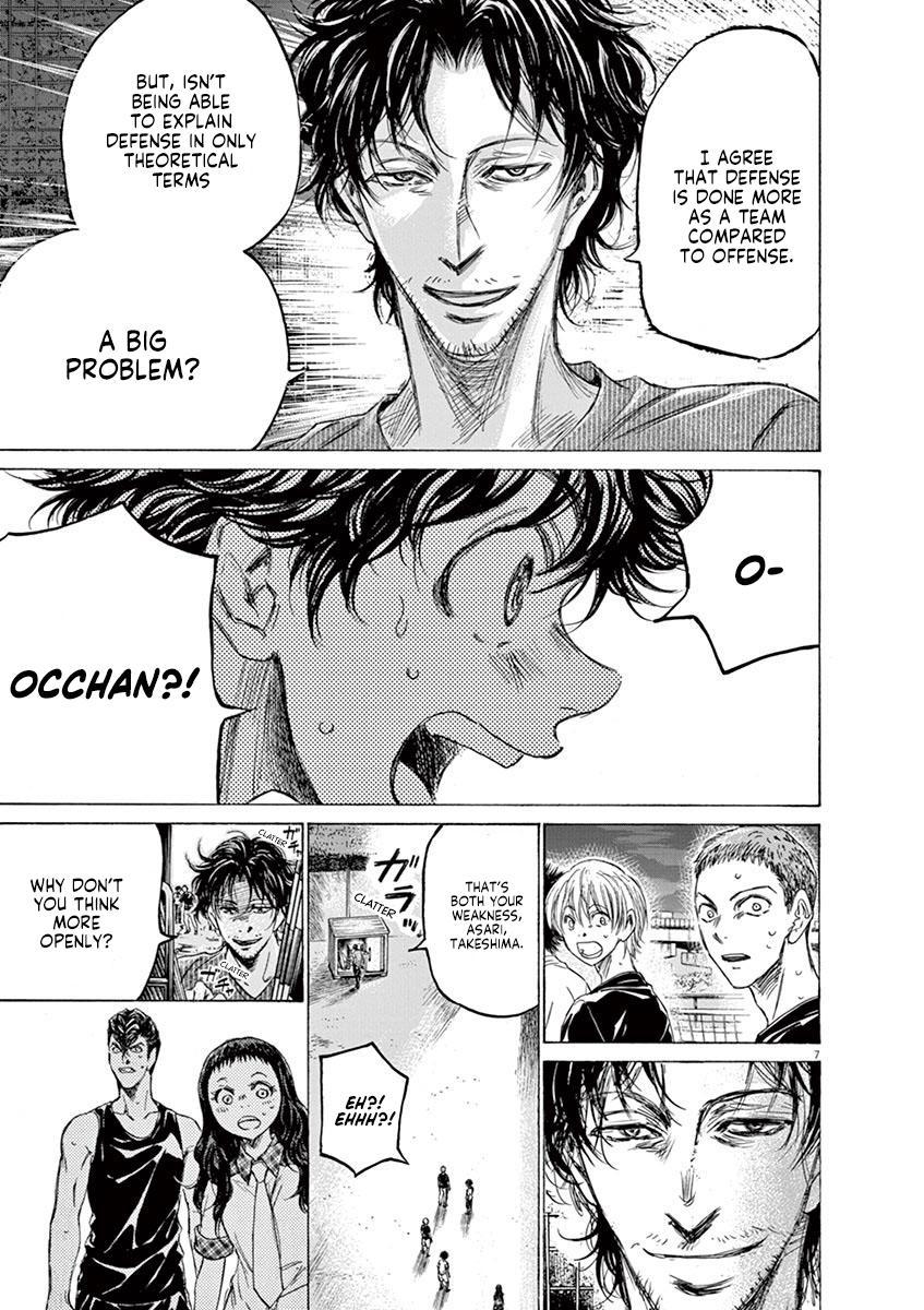 Ao Ashi Vol.14 Chapter 142: Rope page 8 - Mangakakalots.com