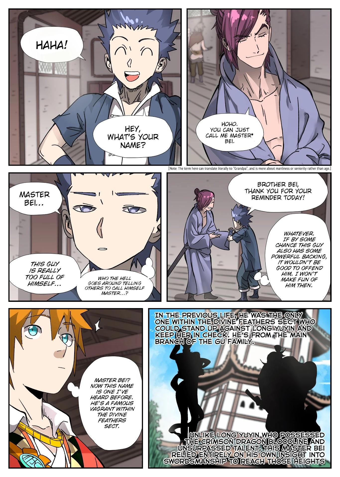 Tales Of Demons And Gods Chapter 306: Getting To Know The New Classmates page 10 - Mangakakalots.com