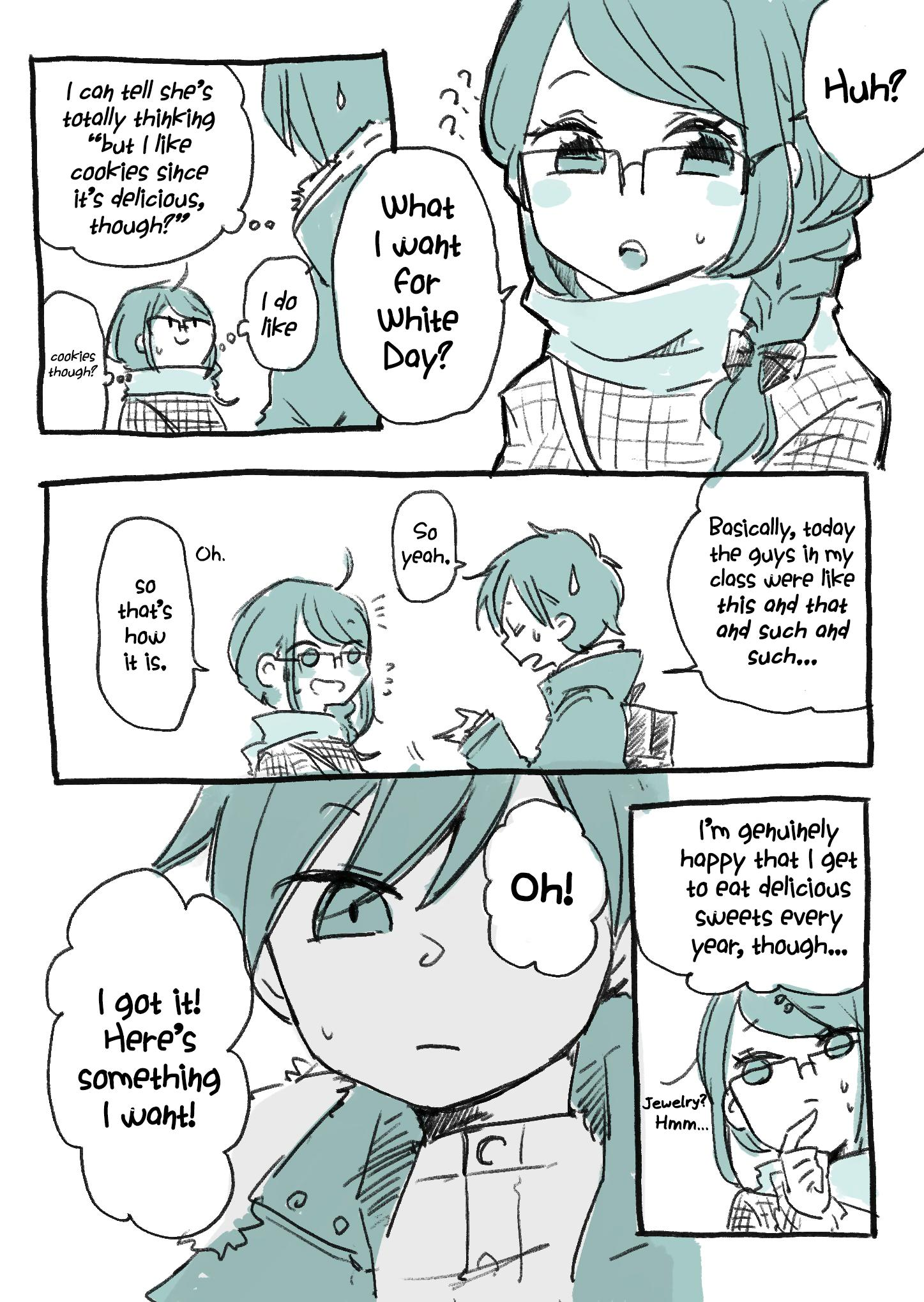 Mousou Telepathy Chapter 717.7: White Day Special page 2 - Mangakakalots.com