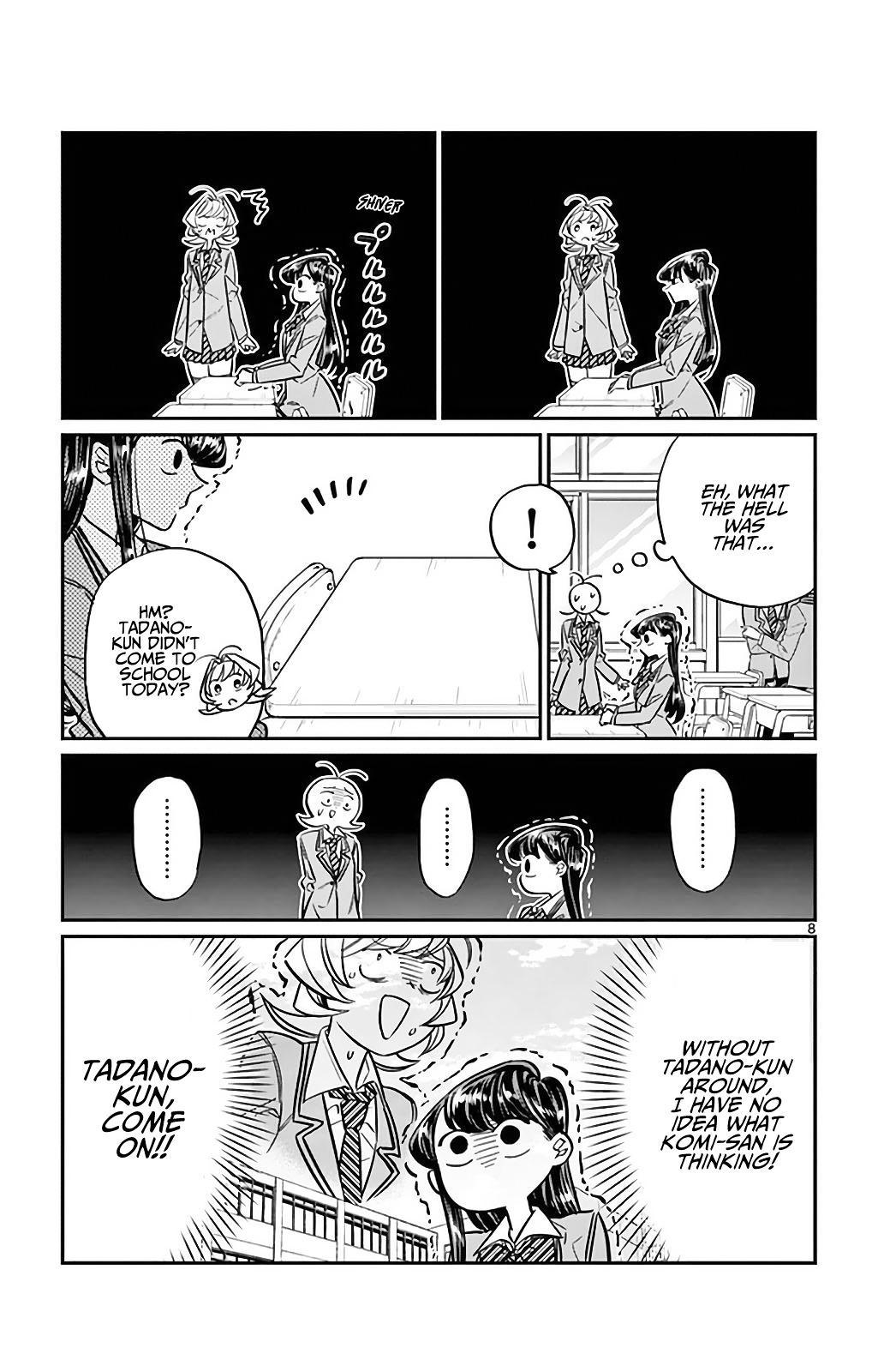 Komi-San Wa Komyushou Desu Vol.2 Chapter 24: I'm Ren! 2 page 8 - Mangakakalot