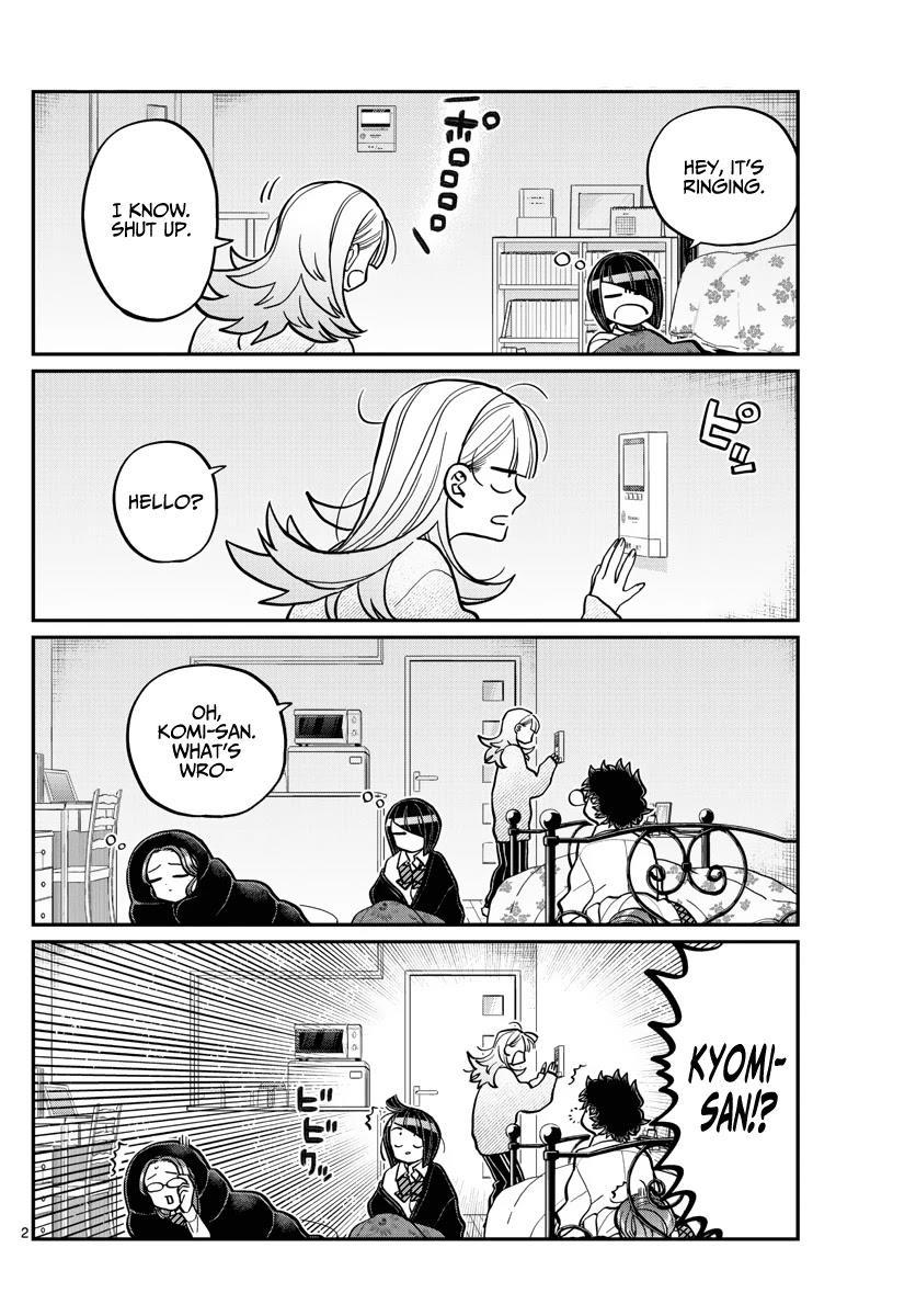 Komi-San Wa Komyushou Desu Chapter 312: I Cannot Accept page 2 - Mangakakalot