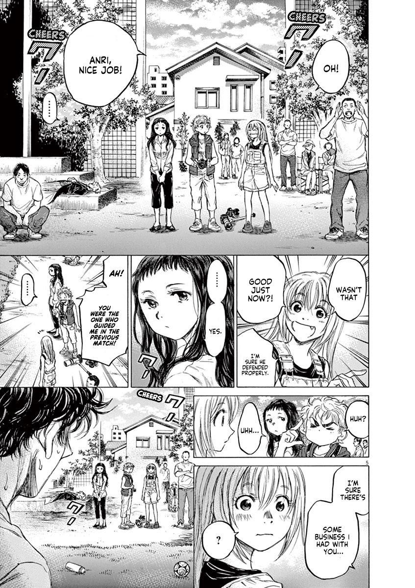 Ao Ashi Vol.8 Chapter 78: Two Instructions page 5 - Mangakakalots.com