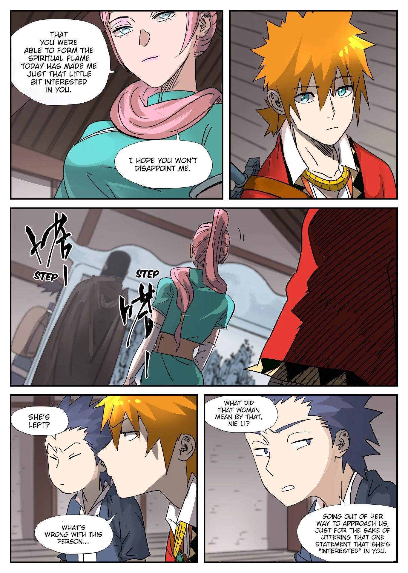 Tales Of Demons And Gods Chapter 306: Getting To Know The New Classmates page 6 - Mangakakalots.com