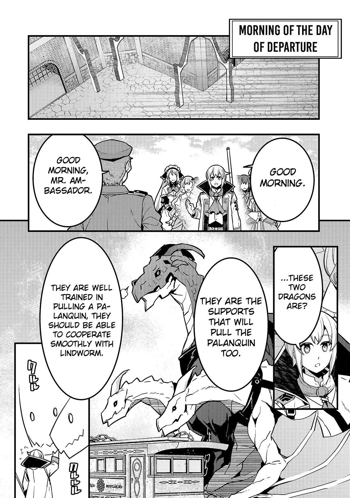 Kyoukai Meikyuu To Ikai No Majutsushi Chapter 34 page 11 - Mangakakalots.com