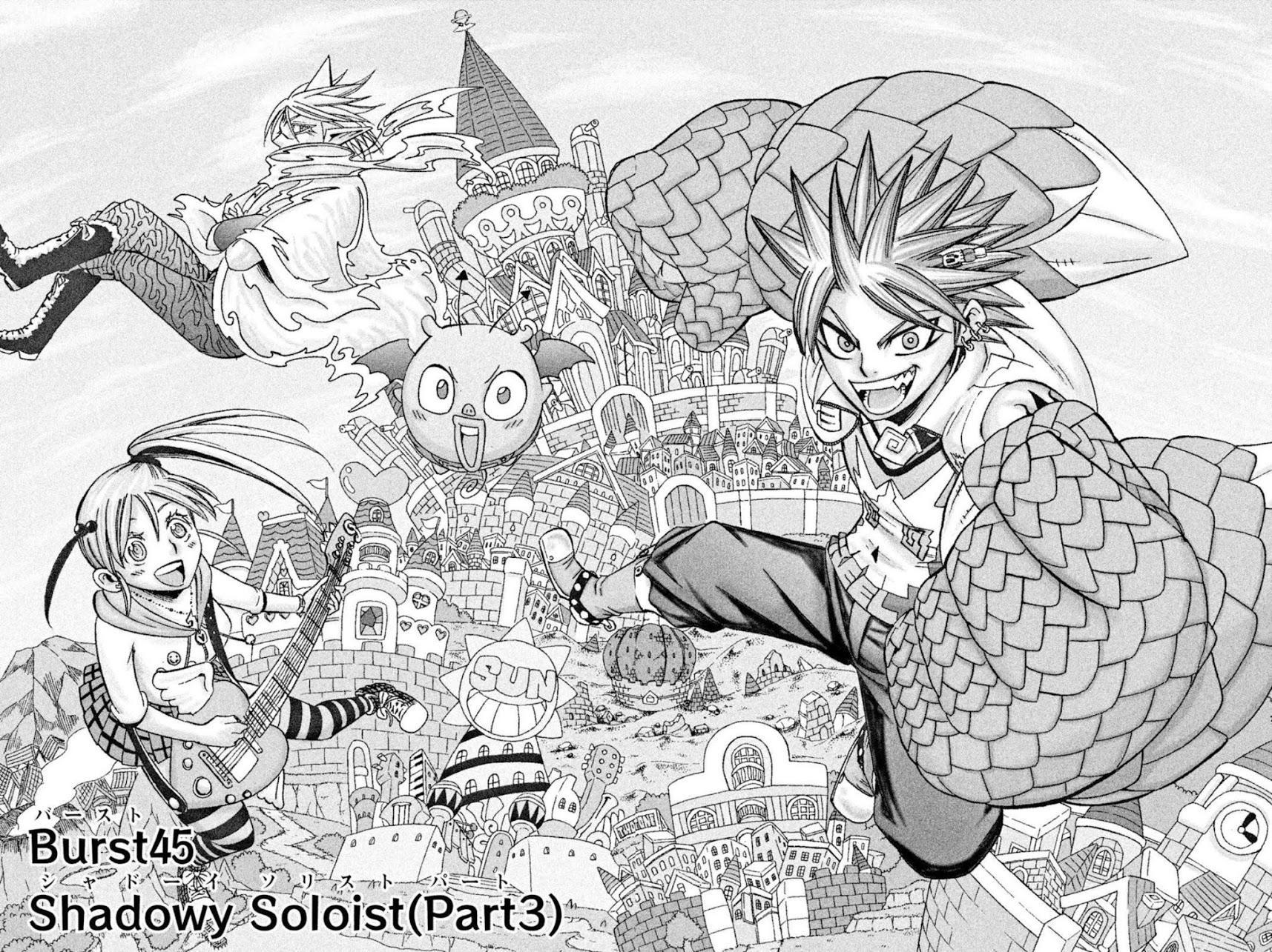 Buster Keel! Chapter 45: Shadowy Soloist (Part 3) page 2 - Mangakakalots.com