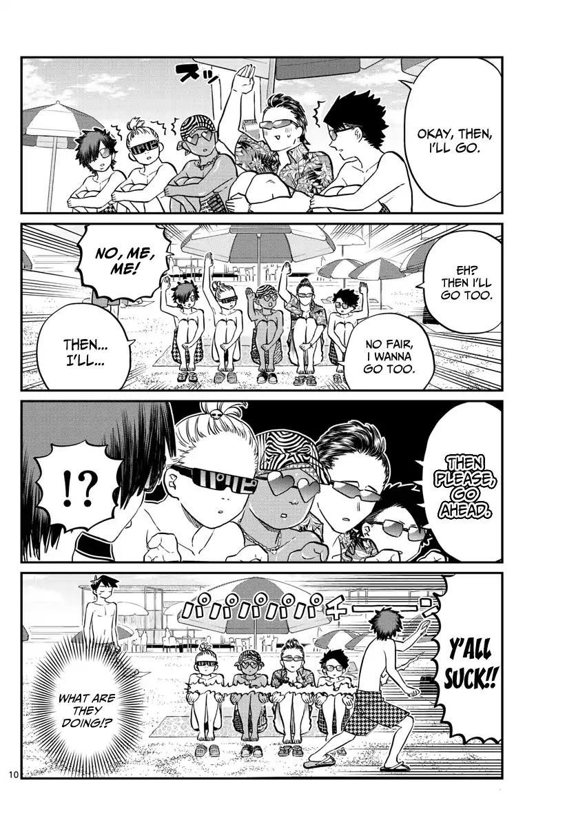 Komi-San Wa Komyushou Desu Vol.12 Chapter 165: Boyfriend page 10 - Mangakakalot