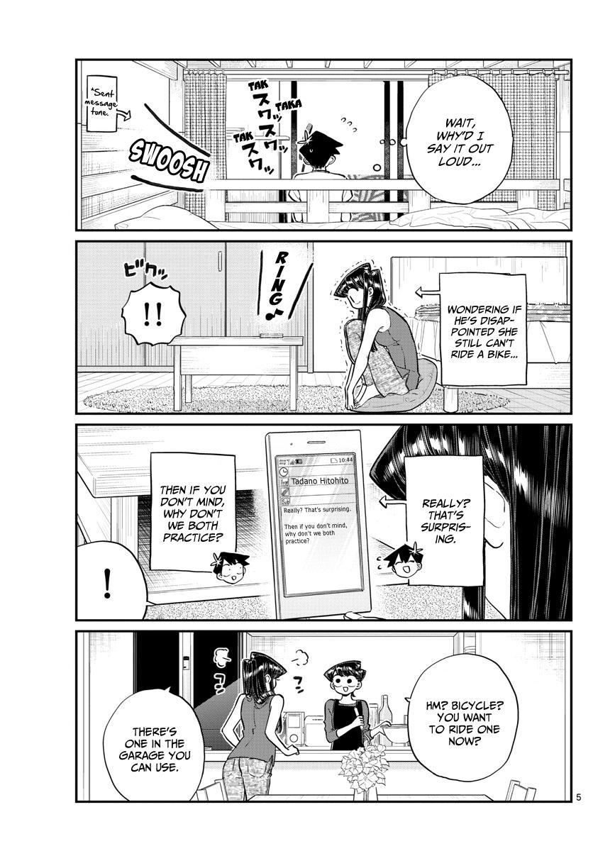 Komi-San Wa Komyushou Desu Chapter 187: Bike Practice page 6 - Mangakakalot