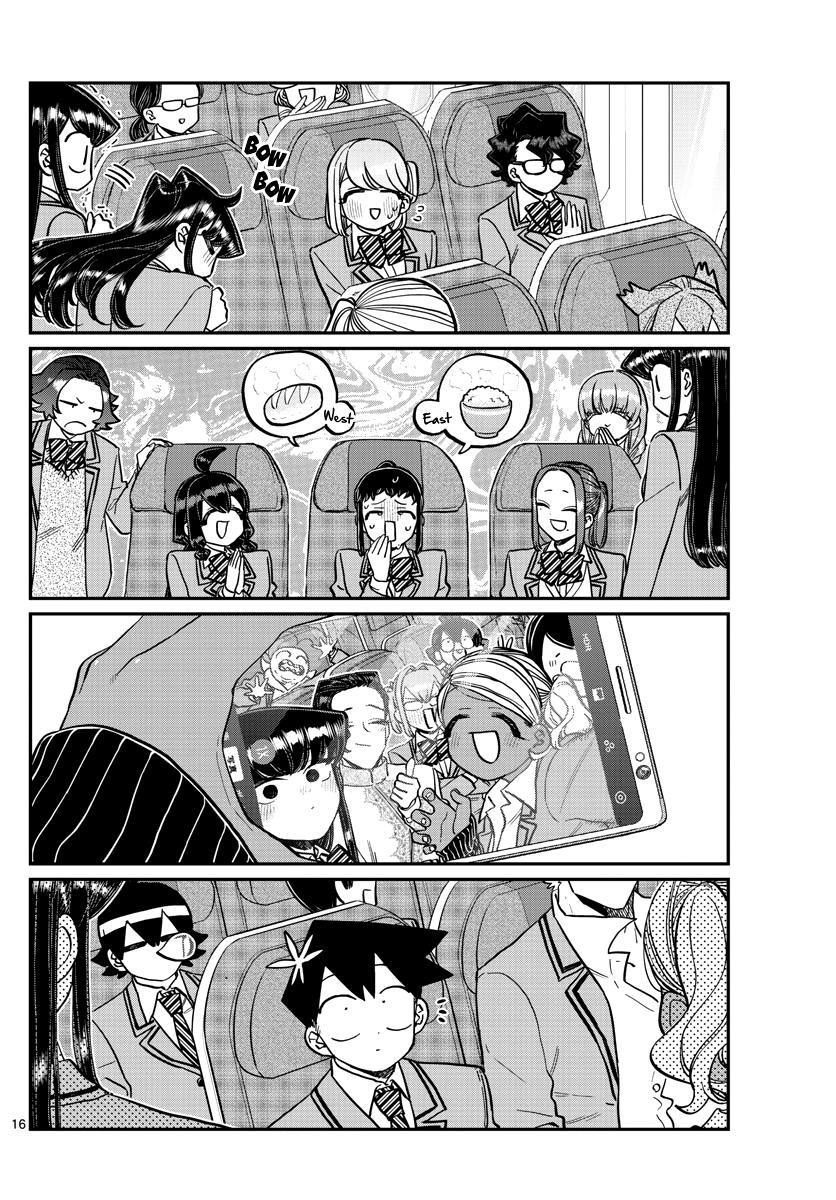 Komi-San Wa Komyushou Desu Chapter 295: Flying Home page 16 - Mangakakalot