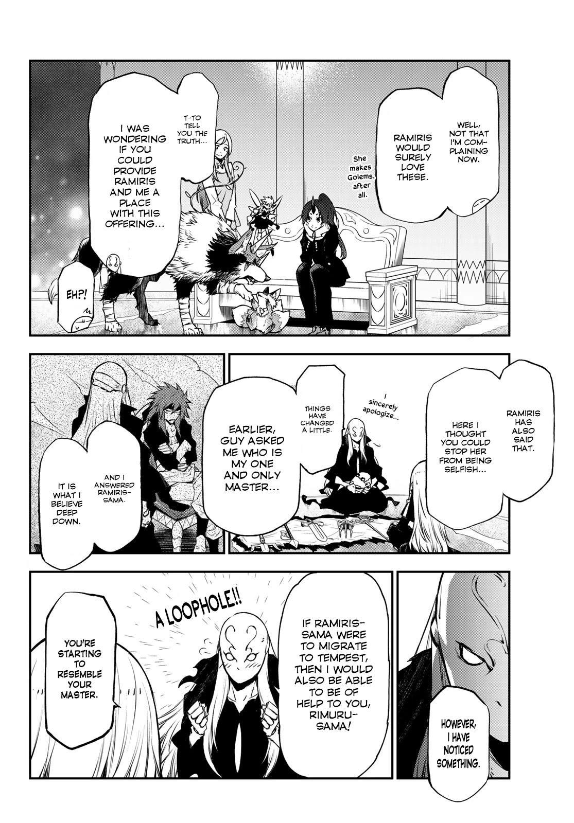 Tensei Shitara Slime Datta Ken Chapter 86: Octagram Demon Lords page 2 - Mangakakalots.com