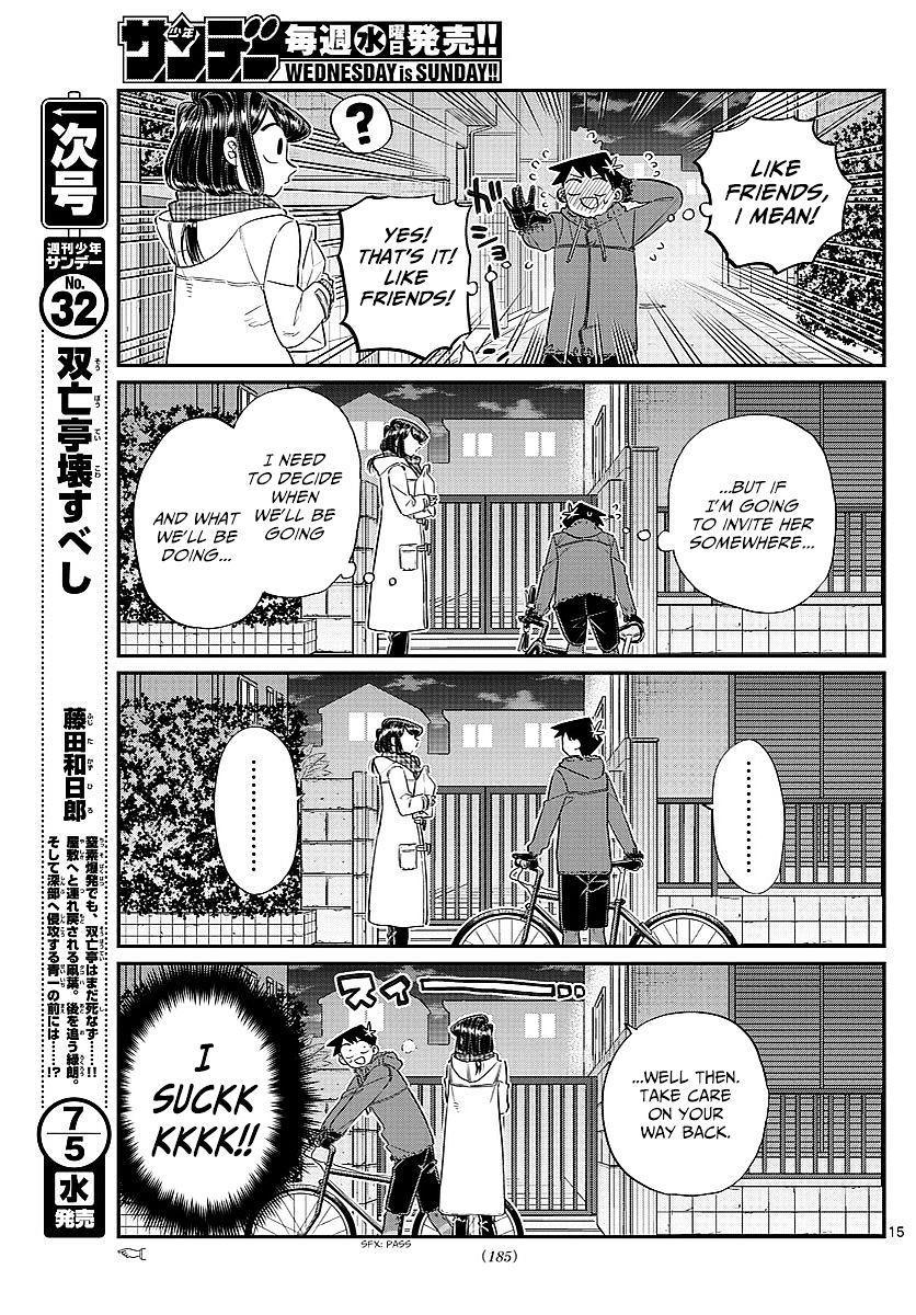 Komi-San Wa Komyushou Desu Vol.6 Chapter 85: Memories Of The Cultural Festival page 8 - Mangakakalot