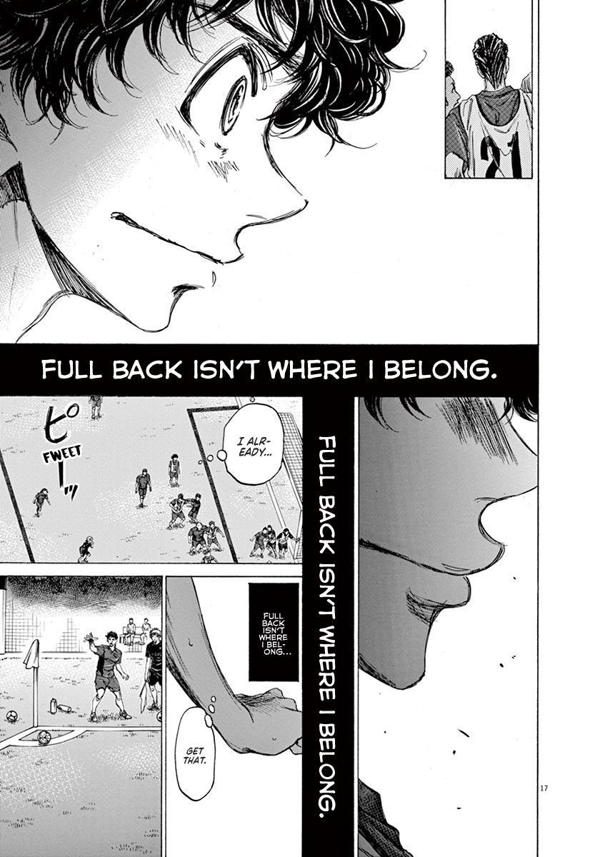 Ao Ashi Vol.7 Chapter 68: Not Where I'm Supposed To Be page 17 - Mangakakalots.com
