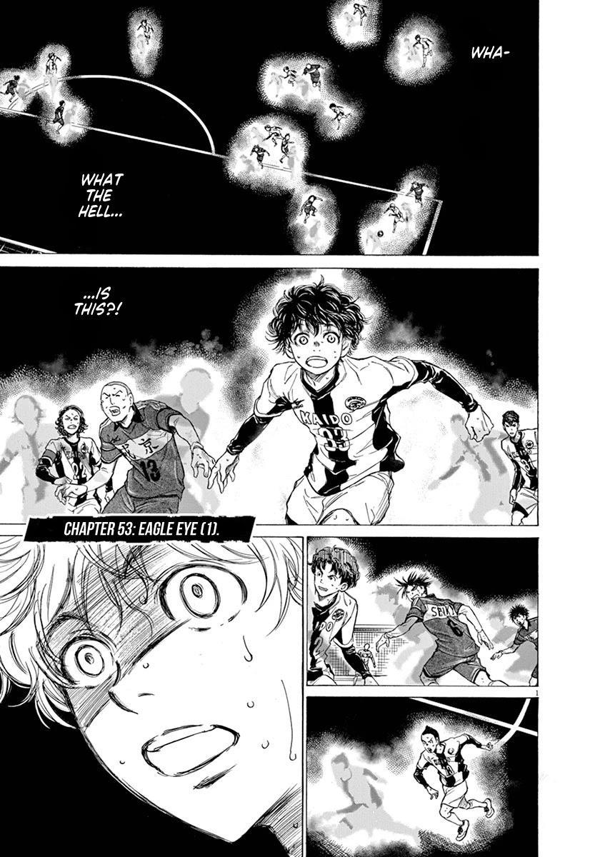 Ao Ashi Chapter 53: Eagle Eye (1) page 1 - Mangakakalots.com