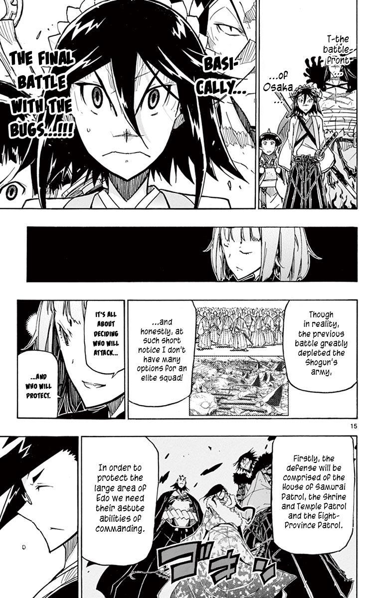 Joujuu Senjin!! Mushibugyo Vol.25 Chapter 240: Me And You page 15 - Mangakakalots.com