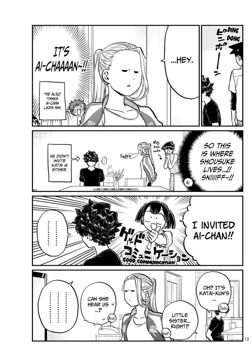 Komi-San Wa Komyushou Desu Chapter 207: Banquet page 13 - Mangakakalot