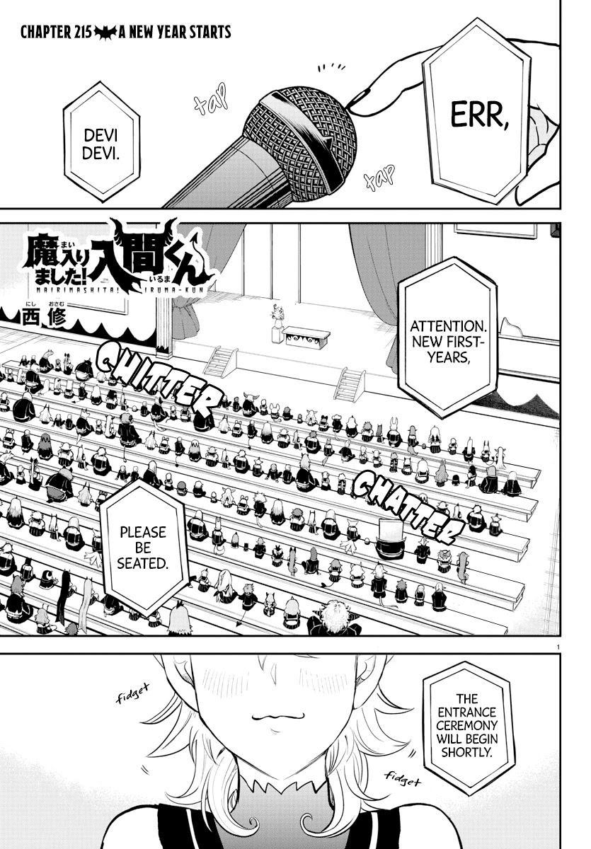 Mairimashita! Iruma-Kun Chapter 215: A New Year Starts page 1 - Mangakakalots.com