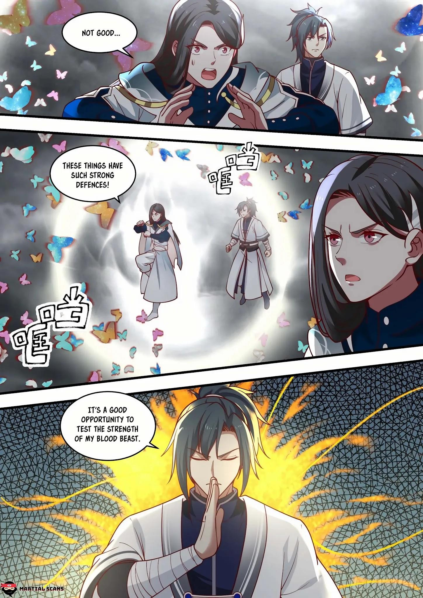 Martial Peak Chapter 1457: Illusionary Void Butterfly page 7 - Mangakakalots.com