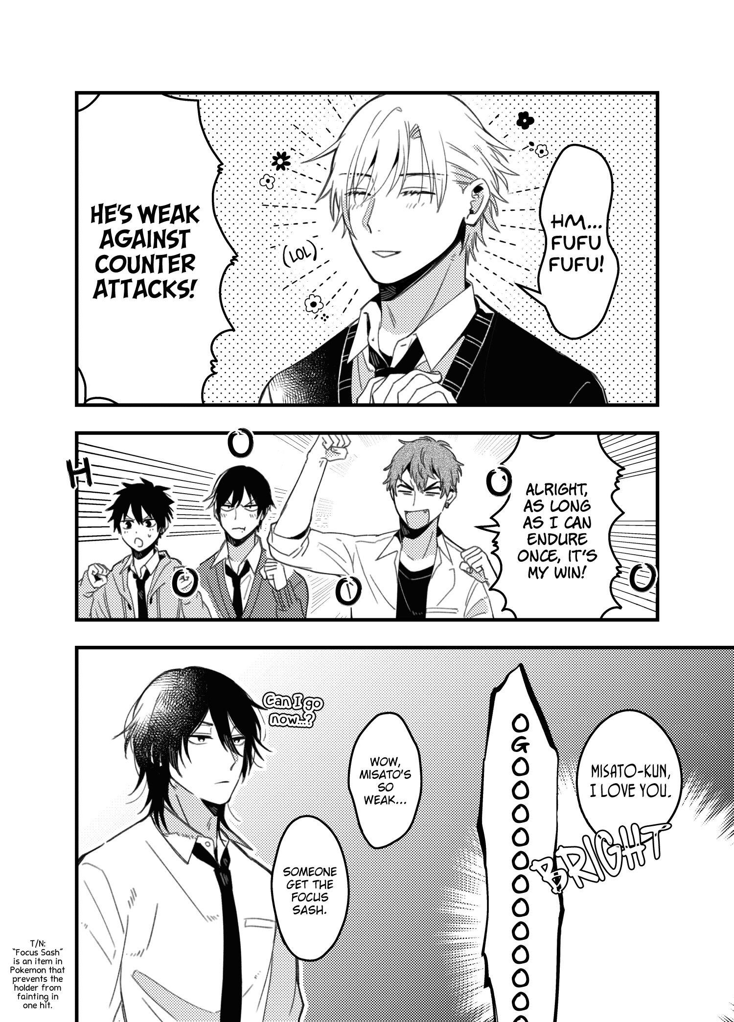 A World Where Everything Definitely Becomes Bl Vs. The Man Who Definitely Doesn't Want To Be In A Bl Volume 2 Chapter 35.6 : Twitter Comics page 25 - Mangakakalots.com