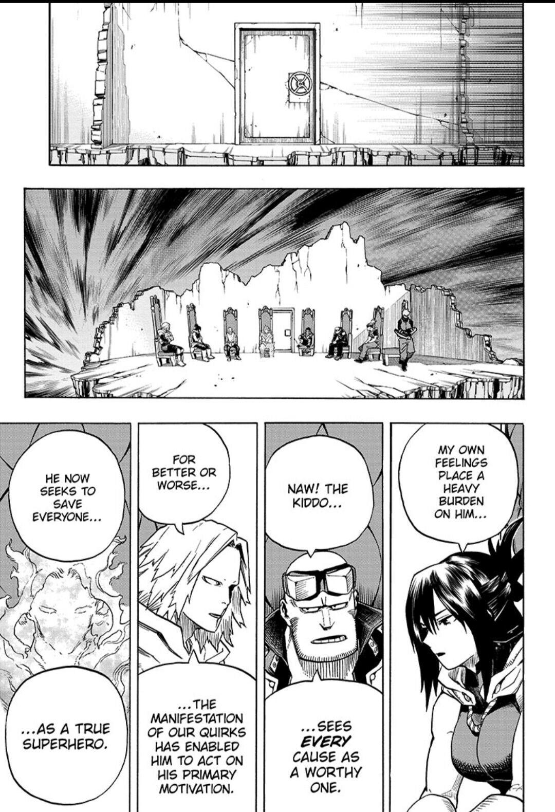 Boku No Hero Academia Chapter 318 page 3 - Mangakakalots.com