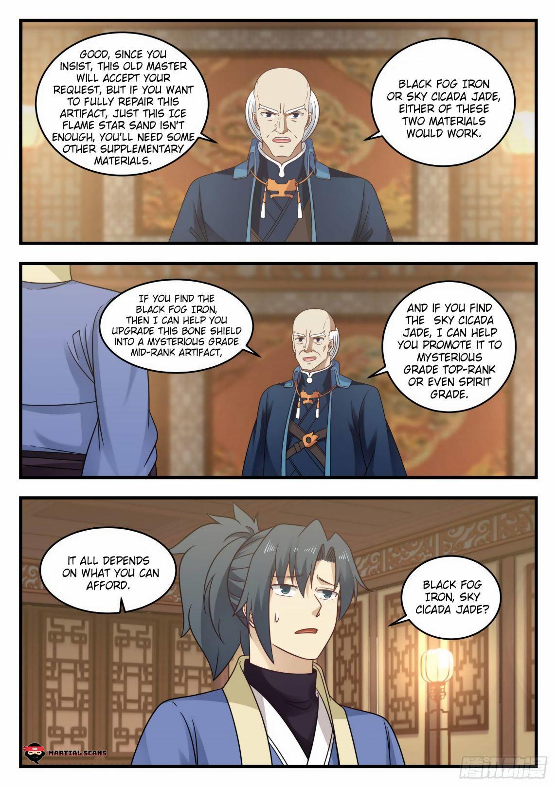 Martial Peak Chapter 592 page 9 - Mangakakalots.com