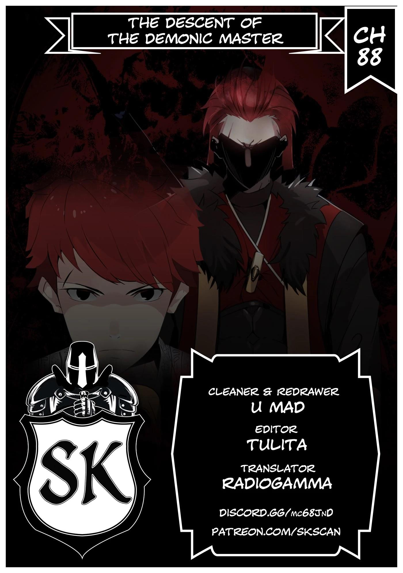 The Descent Of The Demonic Master Chapter 88 page 1 - Mangakakalots.com