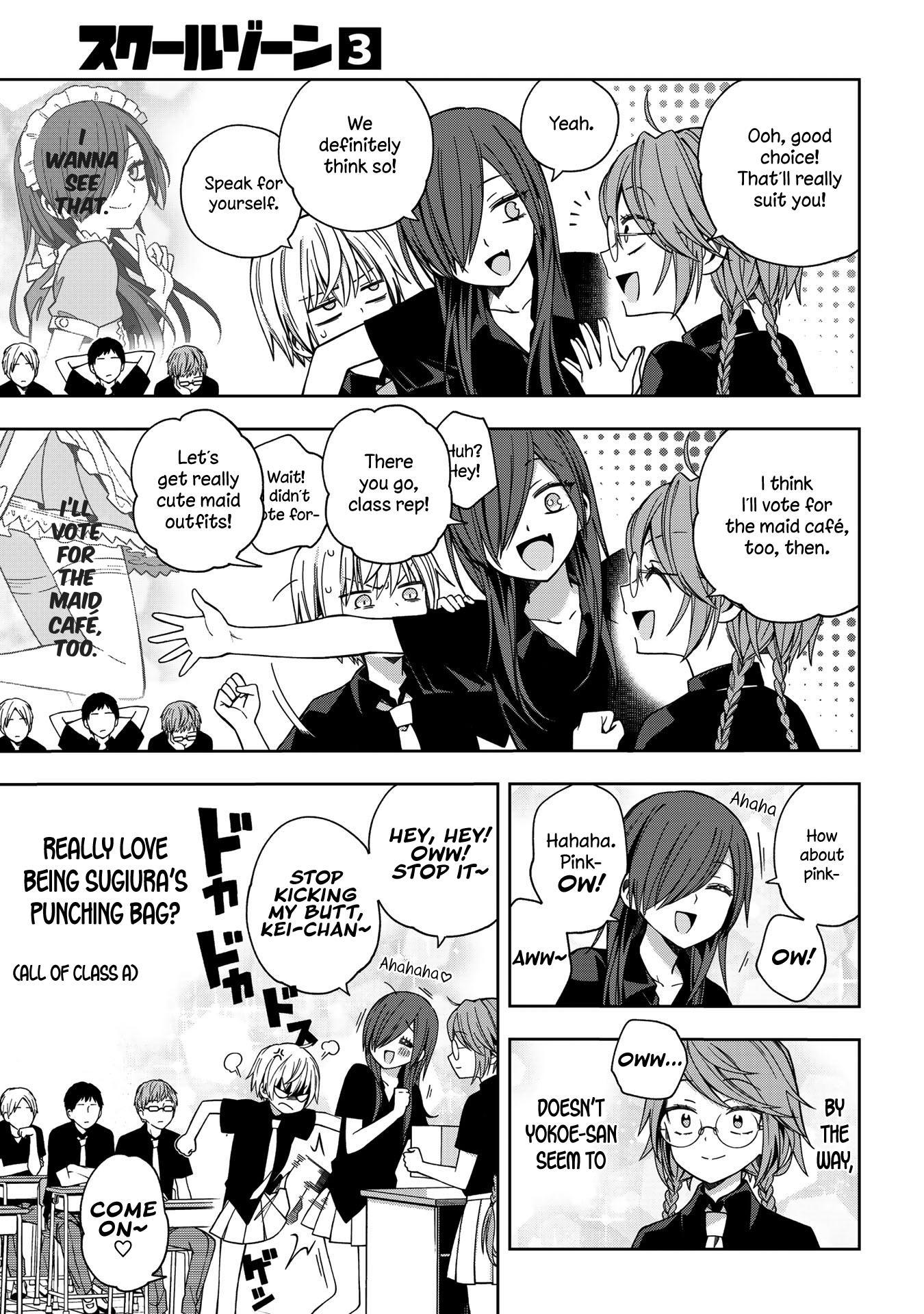 School Zone Vol.3 Chapter 58: We Definitely Think So! page 6 - Mangakakalots.com