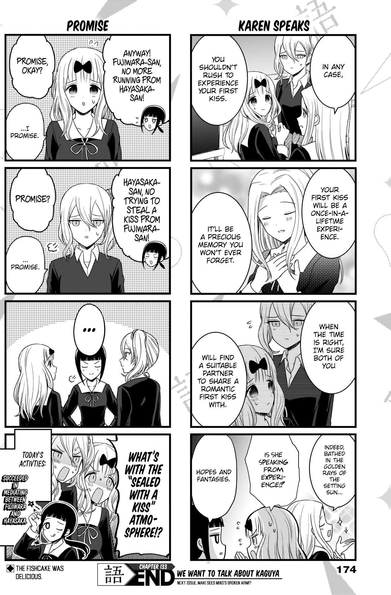 We Want To Talk About Kaguya Chapter 133 page 5 - Mangakakalots.com