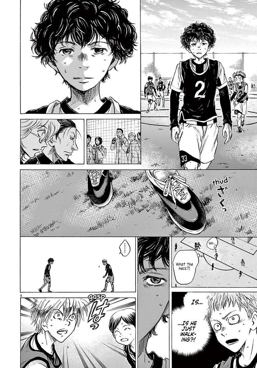 Ao Ashi Vol.4 Chapter 30: Walk page 8 - Mangakakalots.com