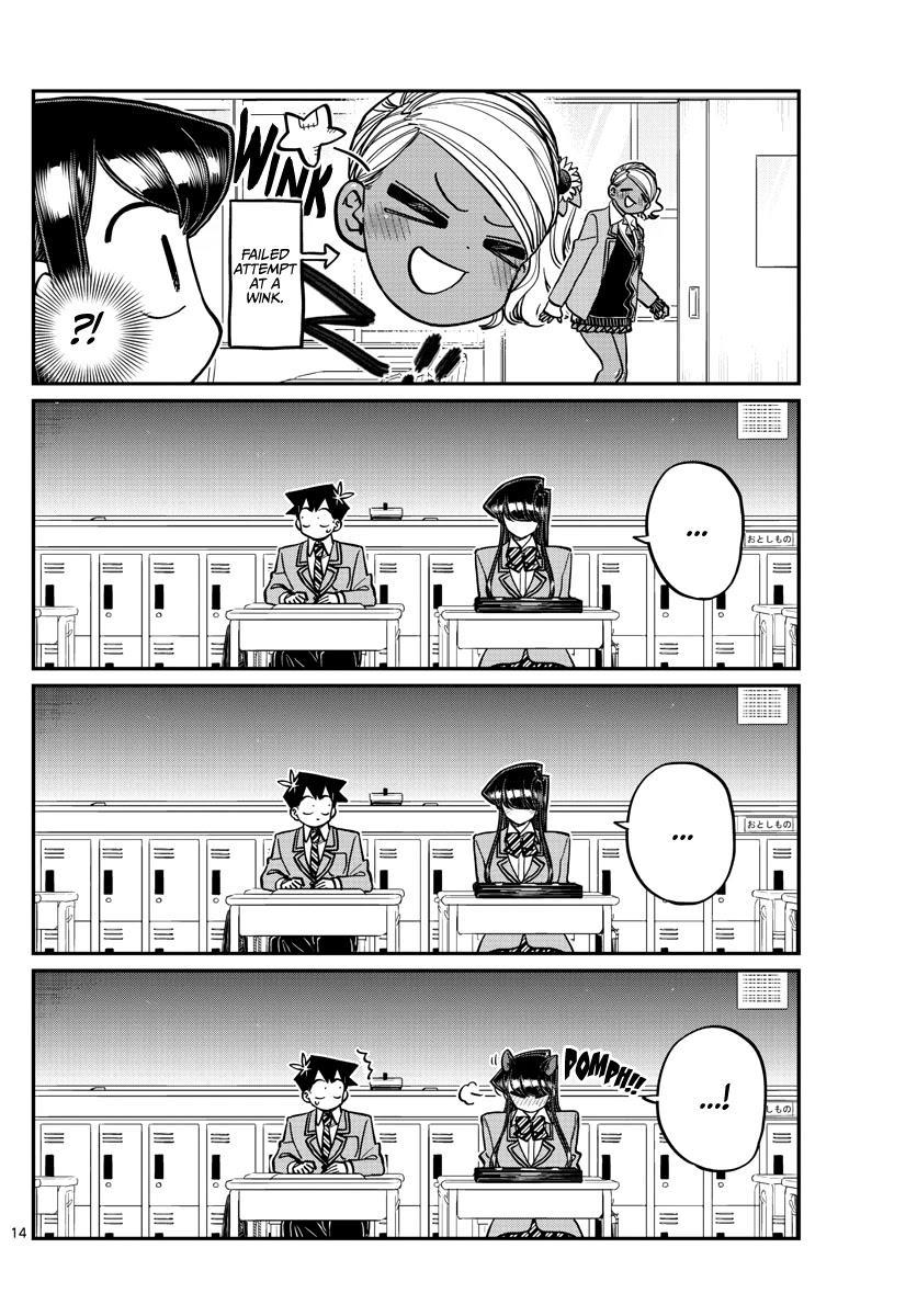 Komi-San Wa Komyushou Desu Chapter 299: Valentine's Day, Second Year Edition page 14 - Mangakakalot