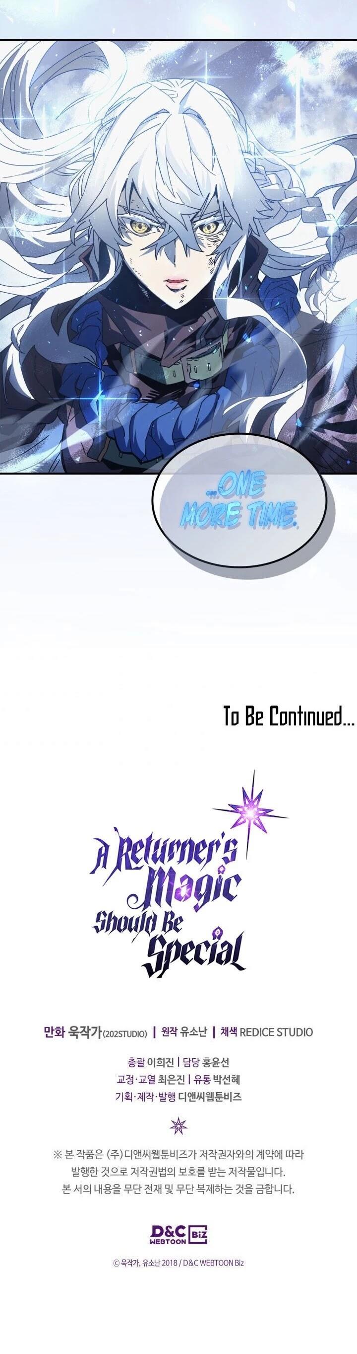 A Returner's Magic Should Be Special Chapter 152 page 52 - Mangakakalots.com