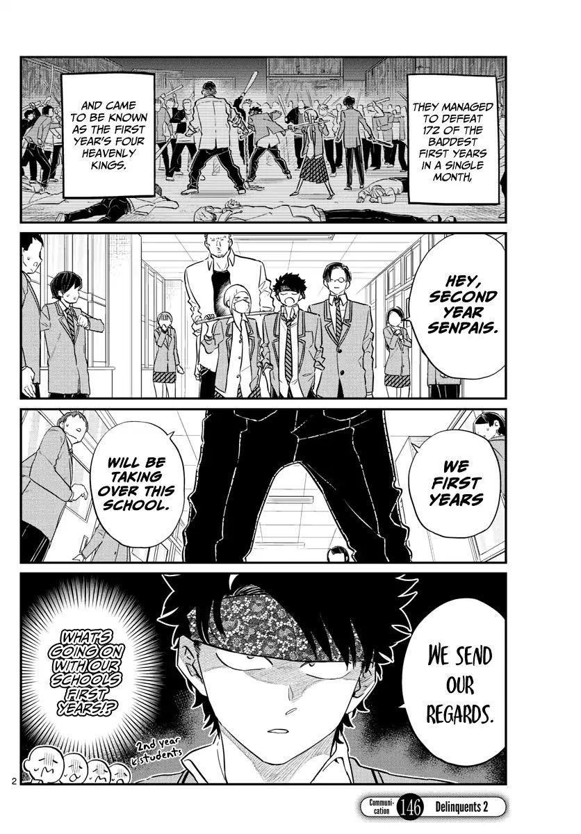 Komi-San Wa Komyushou Desu Vol.11 Chapter 146: Delinquents 2 page 2 - Mangakakalot