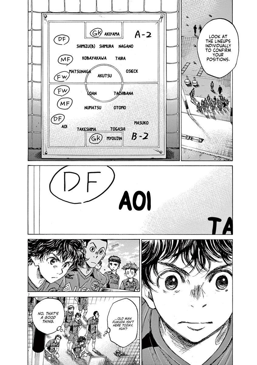 Ao Ashi Vol.7 Chapter 66: Look Out page 8 - Mangakakalots.com