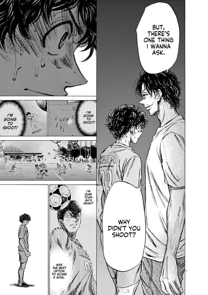 Ao Ashi Vol.8 Chapter 83: Dejected Face page 8 - Mangakakalots.com