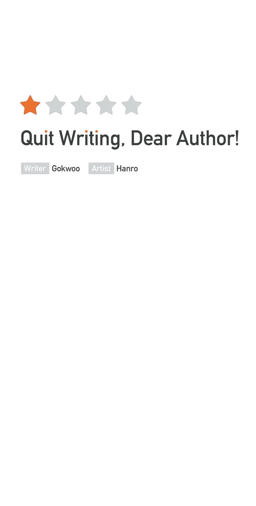 Quit Writing, Dear Author! Chapter 50 page 15 - Mangakakalots.com