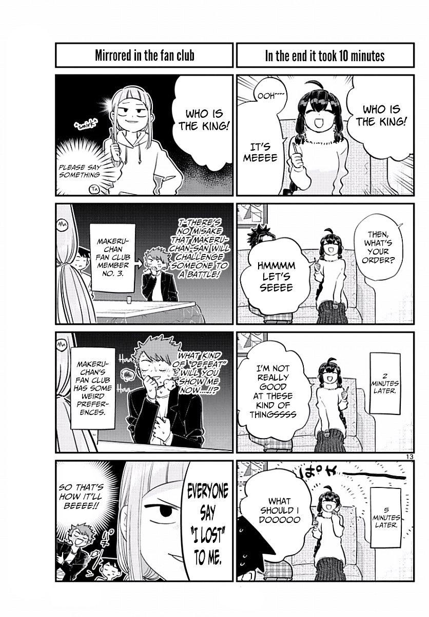 Komi-San Wa Komyushou Desu Vol.7 Chapter 98: The King page 5 - Mangakakalot