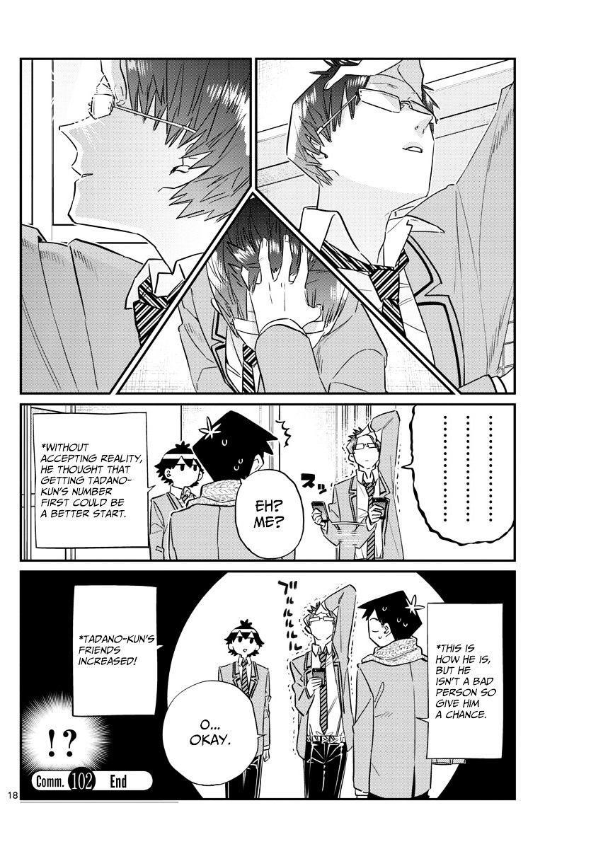 Komi-San Wa Komyushou Desu Vol.8 Chapter 102 : A Narcissist page 18 - Mangakakalot
