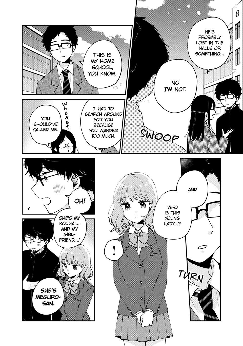 It's Not Meguro-San's First Time Chapter 47: Of Course page 9 - Mangakakalots.com