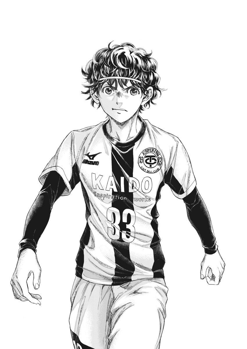 Ao Ashi Vol.23 Chapter 233: Premier League Final Match: Vs. Aomori Seiran High School page 5 - Mangakakalots.com