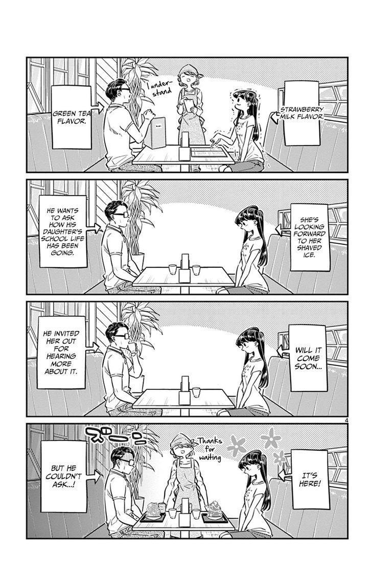 Komi-San Wa Komyushou Desu Vol.3 Chapter 42: Shaved Ice page 4 - Mangakakalot