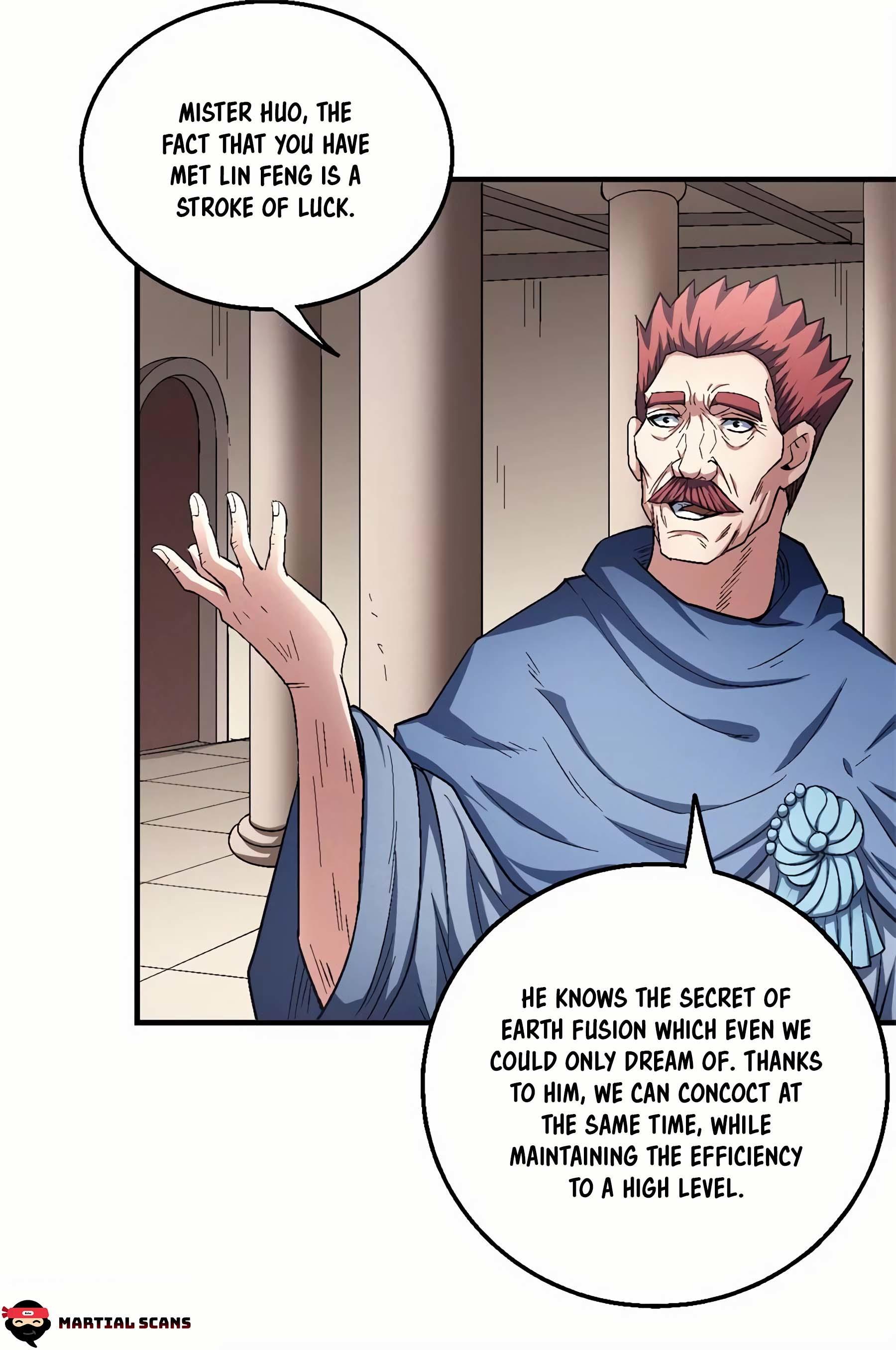 God Of Martial Arts Chapter 127.3: Mister Chi page 17 - Mangakakalots.com