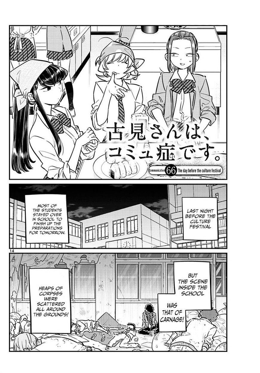 Komi-San Wa Komyushou Desu Vol.5 Chapter 66: The Day Before The Culture Festival page 1 - Mangakakalot